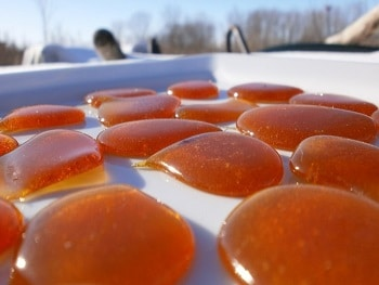 медовые лепешки от натоптышей