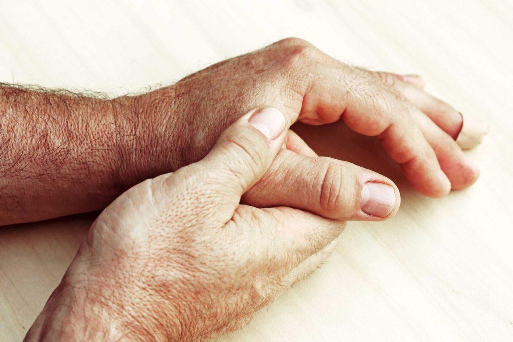 подагра на пальцах