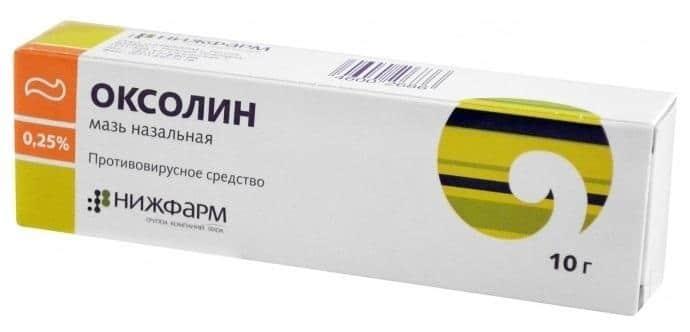 Оксолиновая мазь от ВПЧ