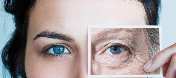 морщины под глазами после 40 лет