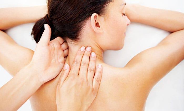 успокоение мышц шеи