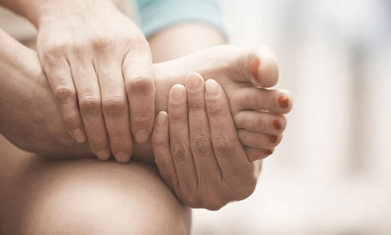 ушиб ноги с гематомой