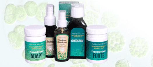 БАДы на основе хлорофилла: Радахлорофилл и Фотостим